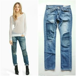 Rag & Bone The Dre Broken-In Boyfriend Patch Jeans